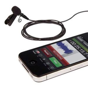 Rode SmartLav in Verbindung mit einem iPhone
